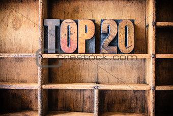 Top 20 Concept Wooden Letterpress Theme