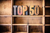 Top 50 Concept Wooden Letterpress Theme