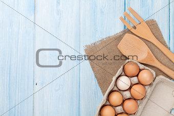 Cardboard egg box
