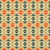 Seamless geometric ethnic pattern