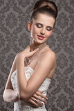 charming elegant woman
