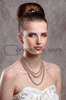 beautiful elegant lady