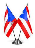 Puerto Rico - Miniature Flags.