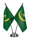 Mauritania - Miniature Flags.