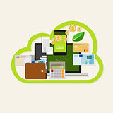 cloud financial money management online service