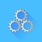 Set of Gears Icon