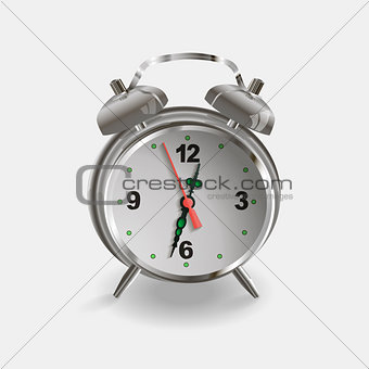 Alarm clock - isolated vector