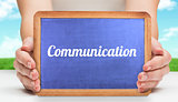 Communication against field and sky