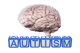Composite image of autism building blocks