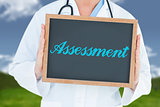 Assessment against field and sky