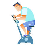 sportsman exercise bike