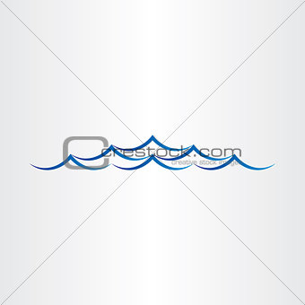 water waves sea or ocean abstract design