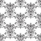 Vector Seamless Paisley Doogle Pattern