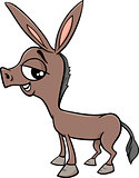 baby donkey cartoon illustration