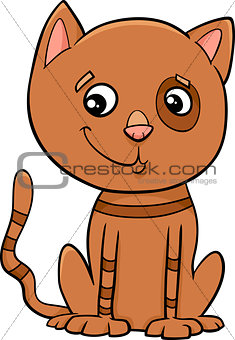 cat kitten cartoon illustration