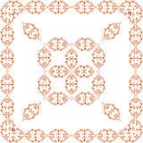 ornamental vector frame with Center