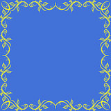 ornamental vector frame.