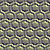 Honeycomb background 3d. Mosaic. Vector illustration.
