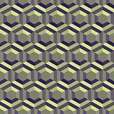 Honeycomb background 3d. Mosaic. Vector illustration.