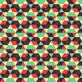 Seamless geometric background. Abstract vector Illustration.