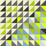 Geometric triangles background. Mosaic.
