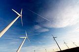 wind mills background