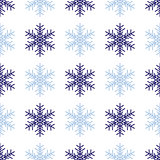 Snowflakes background in light gray colors