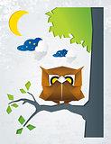 Owl Origami