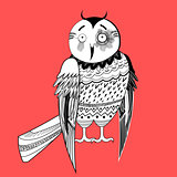 large graphic owl