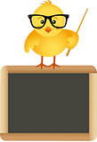 Teacher chick with school board