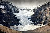 Scenic view of Columbia Icefield glacier in Jasper NP, Canada
