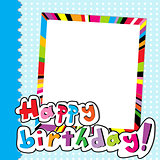 Happy Birthday scrapbook