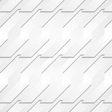 Grey paper tech shapes background