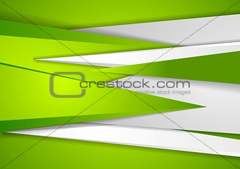 Abstract green tech corporate background