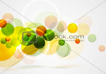 Bright summer geometric background