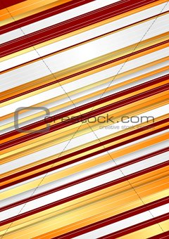 Abstract red and orange stripes background