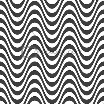 Abstract wave seamless pattern design