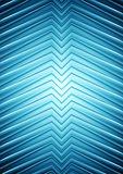 Big blue smooth arrows design
