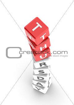 Thursday puzzle word