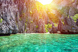 Beautiful landscape in El Nido, Philippines