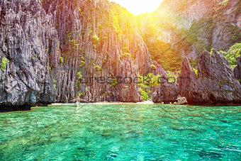 Beautiful landscape in El Nido, Philippines