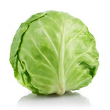 Fresh cabbage ripe vegetable