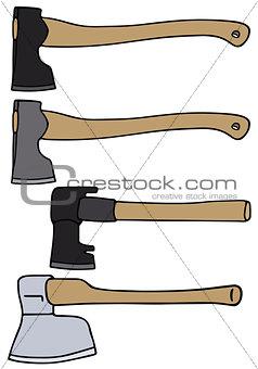 Four classic axes