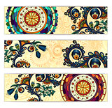 Paisley ethnic batik backgrounds.