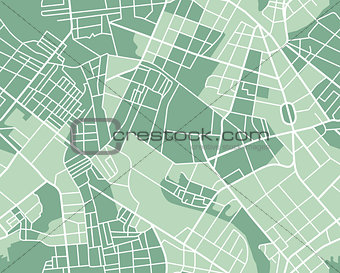 City map seamless