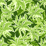Green Leaves pattern.