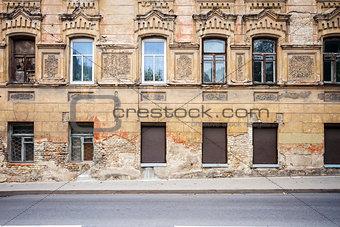 Old street wall