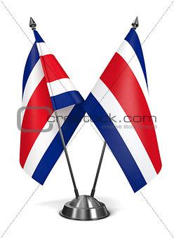 Costa Rica - Miniature Flags.