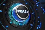 Peace Controller on Black Control Console.