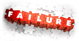 Failure - Word on Red Puzzles.